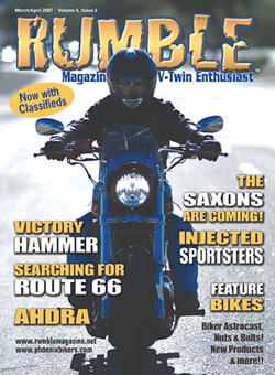 Magazine Cover in Rumble Magazine